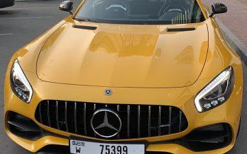 Rent Mercedes S63 AMG 2018