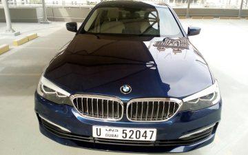 Rent BMW 520 2019