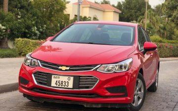 Rent Chevrolet cruze